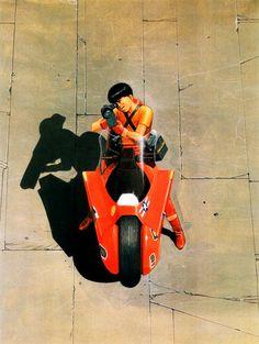 Akira - Kaneda by Katsuhiro Otomo