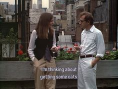 woody allen diane keaton androgyne at its best | Tumblr