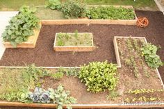 very simple step by step instructions on how to make raised garden beds.