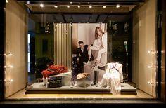 analogo Hogan Fashion Week windows 2014, Milan – Italy