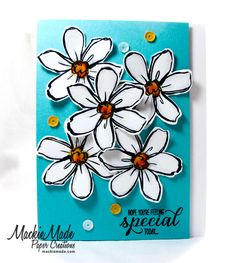 Created by Mackie Robertson for The Card Concept featuring  Stampin Up's Garden in Bloom stamps