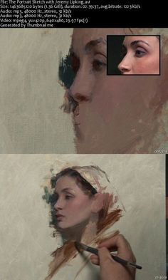how to paint portraits