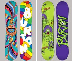 For the Bunny Hill: Burton Chopper and Chicklet Snowboards  - LET IT SNOW!!!! #greatgifts #activekids