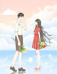 Girl Cartoon, Cartoon Art, Samara, Animated Love Images, Cosplay Tumblr, Girly Drawings, Harry Potter Anime, Girls With Flowers, Cute Anime Couples