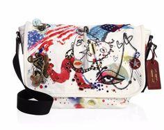 Marc Jacobs New Collage Printed/embellished Messenger Multi Messenger… Designer Handbags On Sale, Canvas Messenger Bag, Vintage Bags, Bag Sale, Marc Jacobs, Diaper Bag, Dust Bag, Satchel, Pouch