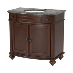 36 In Antique Cherry Provence Traditional Bath Vanity At Lowes.com |  Bathroom Decor | Pinterest | Vintage Bathroom Vanities, Bau2026