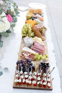 Gorgeous and easy charcuterie boards for your wedding reception - bridal shower - or next gathering - easy meat and cheese boards {wine glass writer} Meat Appetizers Appetizers Appetizers keto Appetizers parties Appetizers recipes Snacks Für Party, Appetizers For Party, Appetizer Recipes, Meat Appetizers, Wedding Appetizer Table, Appetizer Table Display, Picnic Table Wedding, Diy Wedding Buffet, Party Salads