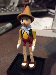 D Jones - jointed Pinocchio toy
