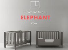 Oeuf NYC Debuts Their Elephant Crib