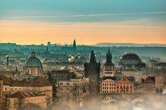 Prague, Old Town - sunrise #lovelockstore #lovelockstory #prague #phoptography
