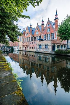 Bruges, Belgium | Incredible Pictures.   Now if I could just get Colin Ferrel to go with me, we'd both be In Bruges...hehe