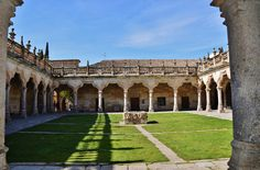 When talking about Spanish universities, it is impossible not to mention the University of Salamanca. This is Spain's oldest continuously operating university and one of the four oldest in Europe along with the universities of Paris, Oxford, and Bologna.  #Spanish #Spain #Salamanca  http://www.donquijote.org/culture/spain/places/cities/university-of-salamanca