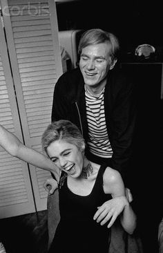 Andy Warhol and Edie Sedgwick - 1965