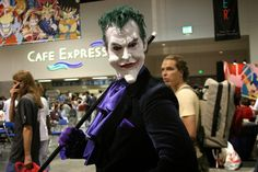 The Joker, San Diego Comic Con, 2004 - Photo by San Diego video producer Patty Mooney of Crystal Pyramid Productions