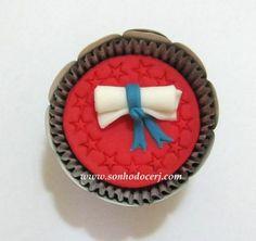 Cupcake Formatura ! curta nossa página no Facebook: www.facebook.com/sonhodocerj