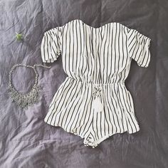 Mini striped play suit. Discover more at tautmun.com!