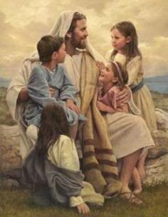 Jesus and the Children image by jacqulin67 - Photobucket