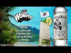 Shaken Mojito | Woahito | Captain Morgan® White Rum