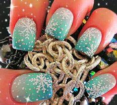 Diseños navideños para uñas ~ Belleza y Peinados