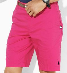Pink Shorts, Summer Shorts, Polo Ralph Lauren Outlet, Big Men, Breast, Feminine, Lady, My Style, Shirts
