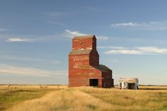 Feudal Grain Elevator - Grain Elevators - Sask Photos - SaskPhotos.ca