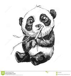 Resultado de imagem para panda desenho