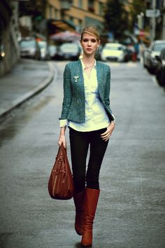 5191e1737608 Discover this look wearing Green Blue H M Blazers