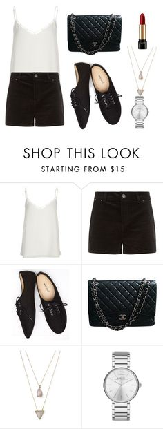 """""""chic"""" by angeliannalcazar ❤ liked on Polyvore featuring River Island, Wet Seal, Chanel, Panacea, Marc by Marc Jacobs, Lancôme, outfit, chic, ootd and inspiration"""