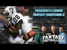 Fantasy Football 2017 - Frequently Asked Fantasy Questions, Part 2 - Ep. #361 - Fantasy FootBall Videos
