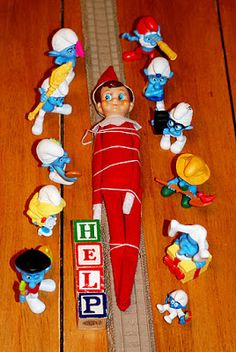 Cherishing the Inbetweens: Elf on a shelf: Day 14