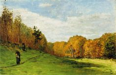 Claude Monet - Wood Gatherers at the Edge of the Forest