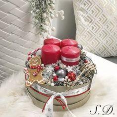 Adventi koszorú - Adventbox, Dekoráció, Ünnepi dekoráció, Karácsonyi, adventi apróságok, Karácsonyi dekoráció, Mindenmás, Meska