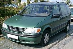 Opel Sintra, the family car in Spain