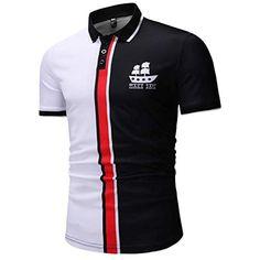2389b0dc5e3 Cebbay T-Shirt Homme Humour Gilet Chemisier Buttons Été Manche Courte Polo  Hauts Top Sweat