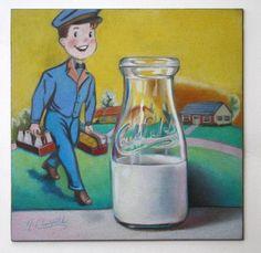 Nicole Caulfield Fine Art: Caulfield Dairy