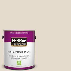 BEHR Premium Plus Home Decorators Collection 1-gal. #hdc-CT-05 Pale Palomino Zero VOC Eggshell Enamel Interior Paint