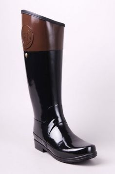 Michael Kors Miranda Women US 10 Black Rain Boot Pre Owned 1834 ...