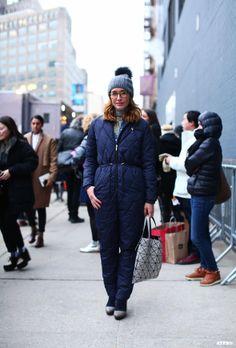 Tiany Kiriloff at New York Fashion Week F/W 2014-15