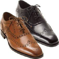 1920's Oxford shoes. These shoes become popular through the Oxford men over in England, which were laced up all the way. Also they could either be one color or two toned was a common theme.