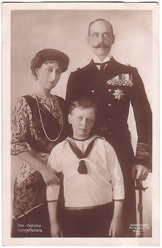 Norwegische Königsfamilie um 1910/ Royal family of Norway in 1910 by Miss Mertens, via Flickr