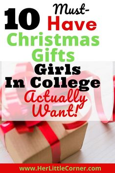 Don't worry, I have all of the Christmas Gift Ideas for women, specifically a college girl. No need to research!     #HolidayGiftIdeas . #ChristmasGiftsForteenagers #ChristmasGiftsGirls #gift idea christmas bestfriend