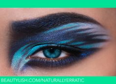 Potential Cheshire cat eye makeup