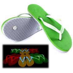 db3788813983ab Luminous Slippers  Luminous Flip Flops...These fashionable beach sandals are  a good