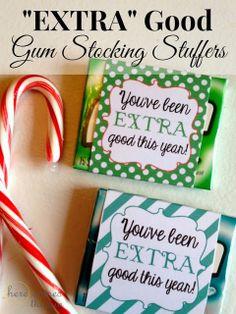 """Extra"" Good Gum Stocking Stuffers #GiveExtraGum #shop #cbias"