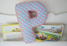 DIY Fabric Alphabet Letter Cushion 9