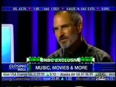 Steve Jobs TV interview about movies coming to iTunes (2006)