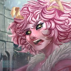 This is a Portrait thar I made of Mina Ashido from Boku No Hero Academia! Look for the complete class girls at my Gallery. Mina Ashido - My Hero Academia Gamer 4 Life, Drawing Competition, Alien Queen, Draw Something, Pink Princess, Hero Academia Characters, Me Me Me Anime, Boku No Hero Academia, Cool Pictures