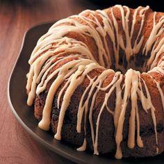 Delightful Banana Cake Recipe from Taste of Home -- shared by Vicki Raatz of Waterloo, Wisconsin