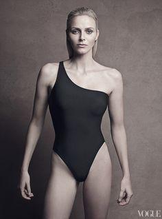 Princess Charlene of Monaco / Vogue, October 2011