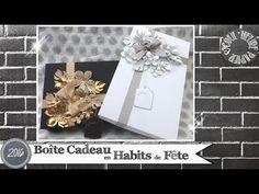 """Vidéo-Tuto """"Boîte Cadeau en Habits de Fête"""" par Coul'Heure Papier - YouTube"""